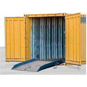 Bluff® 15CR6072 Forklift Container Ramp 60 x 72 15,000 Lb. Cap.
