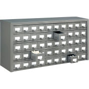 """Global Industrial™ Steel Drawer Cabinet - 50 Drawers 36""""W x 9""""D x 17-3/4""""H"""