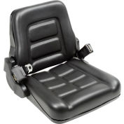 Global Industrial™ Best Value Vinyl Forklift Truck Seat with Seat Belt