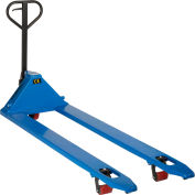 Global Industrial™ Premium Extra-Long Fork Pallet Jack Truck 27 x 78 Forks 4400 Lb. Capacity
