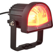 Global Industrial™ LED Forklift Safety Warning Light With Arc Beam Pattern