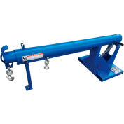 "Global Industrial™ Adjustable Pivoting Forklift Jib Boom Crane, 86-5/8""-146-5/8""L, 6000Lb. Cap."