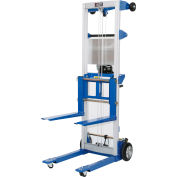 Global Industrial™ Lightweight Hand Operated Lift Truck, 500 Lb. Capacity Fixed Legs
