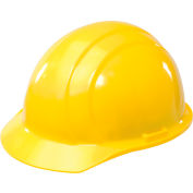 ERB™ 19762 Americana Hard Hat, 4-Point Pinlock Suspension, Yellow