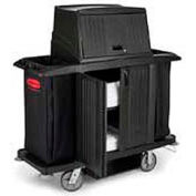 Rubbermaid® Full Size Housekeeping Cart with Doors 9T19
