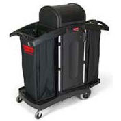 Rubbermaid® High Security Compact Housekeeping Cart 9T78
