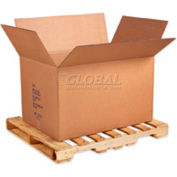 """Full Overlap Bottom Container Double Wall Corrugated Box 41"""" x 28-3/4"""" x 25-1/2"""" - 5 Pack"""