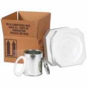 Two - 1 Gallon Foam ShipperKit - 1 Kit Pack