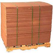 "Corrugated Sheets 30"" x 40"" 200#/ECT-32 Kraft - Pkg Qty 5"