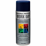 Krylon Industrial Work Day Enamel Paint Blue - A04403007 - Pkg Qty 12