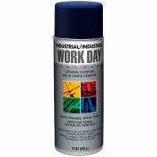 Krylon Industrial Work Day Enamel Paint Blue - A04403007 - Pkg Qty 12
