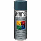 Krylon Industrial Work Day Enamel Paint Gray - A04405 - Pkg Qty 12
