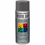 Krylon Industrial Work Day Enamel Paint Dark Gray - A04420 - Pkg Qty 12