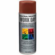 Krylon Industrial Work Day Enamel Paint Brown - A04431 - Pkg Qty 12