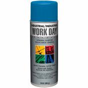 Krylon Industrial Work Day Enamel Paint Rue Blue - A04456 - Pkg Qty 12