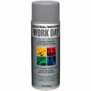 Krylon Industrial Aluminum Work Day Enamel Paint - A04457007 - Pkg Qty 12