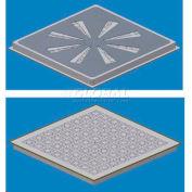 SNA Raised Floor Air Distribution Panel Kit, 2'L X 2'W, 1250 CLC, SCS2 Stringer, 17% Open, EX-HVY