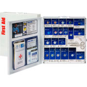 First Aid Only™ 746004 Large SmartCompliance Metal First Aid Cabinet, ANSI Compliant, Class A+