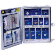 First Aid Only™ 90578 Medium SmartCompliance First Aid Kit, ANSI Compliant, Class A, Metal