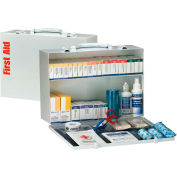 First Aid Only™ 90603 2 Shelf First Aid Kit, ANSI Compliant, Class B+, Metal Cabinet