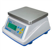 "Adam Equipment WBW30aM NTEP Digital Washdown Bench Scale 30lb x 0.01lb 8-5/16"" x 6-13/16"" Platform"