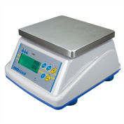 "Adam Equipment WBW35a Digital Washdown Bench Scale 35lb x 0.005lb 8-5/16"" x 6-13/16"" Platform"