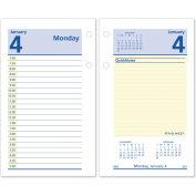 AT-A-GLANCE® QuickNotes Desk Calendar Refill, 3 1/2 x 6, 2021
