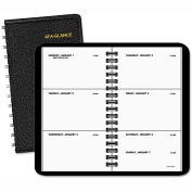 AT-A-GLANCE® Weekly Planner, 2 1/2 x 4 1/2, Black, 2016