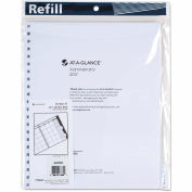 AT-A-GLANCE® Three/Five-Year Monthly Planner Refill, 9 x 11, White, 2017