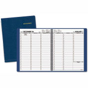 AT-A-GLANCE® Weekly Appointment Book, 8 1/4 x 10 7/8, Navy, 2016-2017