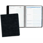AT-A-GLANCE® The Action Planner Weekly Appointment Book, 6 7/8 x 8 3/4, Black, 2016
