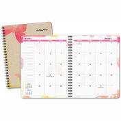 AT-A-GLANCE® Watercolors Monthly Planner, 6 7/8 x 8 3/4, Watercolors, 2018-2019