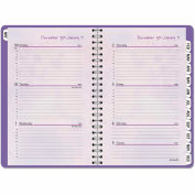 AT-A-GLANCE® Block Format Beautiful Day Weekly/Monthly Appt. Book, 5 1/2 x 8 1/2, 2019