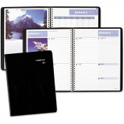 DayMinder® Scenic Weekly/Monthly Planner, 8 1/4 x 10 7/8, Blue, 2016