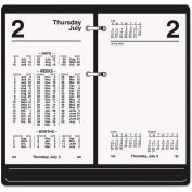AT-A-GLANCE® Financial Desk Calendar Refill, 3 1/2 x 6, White, 2019