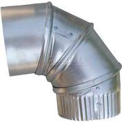 """Speedi-Products Aluminum 90° Elbow EX-26A90 03 26 GA. 3"""""""