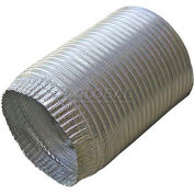 "Speedi-Products Aluminum Flex Pipe Crimped One End EX-AFC 496 4"" X 96"""