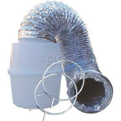 """Speedi-Products Indoor Lint Trap Kit With Aluminum Foil Pipe EX-LTK 04 4"""" X 60"""""""