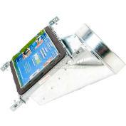 "Speedi-Boot 90° Register Vent Boot Adj. Hangers SBH-6106 NB 6"" X 10"" X 6"""