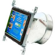 "Speedi-Boot Straight Register Vent Boot SBH-8107 SB Adjustable Hangers 8"" X 10"" X 7"""
