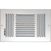 "Speedi-Grille Ceiling Or Wall Register With 3 Way Deflection SG-610 CW3 6"" X 10"""