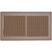 "Speedi-Grille Brown SG-610 FLB Floor Vent Register With 2 Way Deflection 6"" X 10"""
