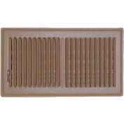 "Speedi-Grille Brown SG-610 FLB Floor Vent Register With 2 Way Deflection 6"" X 10"""