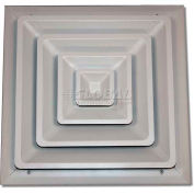 "Speedi-Grille Fixed Cone Ceiling Register SG-66 FCR 6"" X 6"""