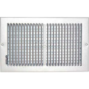 "Speedi-Grille Ceiling Or Wall Register With 2 Way Deflection SG-814 CW2 8"" X 14"""