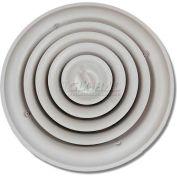 "Speedi-Grille Round Ceiling Vent Register Cover Adj. Bowtie Damper SG-RCR 10 10"""