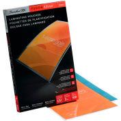 Swingline™ GBC® EZUse Thermal Laminating Pouches, Menu Size, 5 mil, 100 Pack - Pkg Qty 7