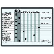 """Quartet® Classic Gray In/Out System, 24""""W x 18""""H, DuraMax® Porcelain, Black Frame"""