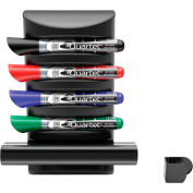 Quartet® Prestige 2 Connects™ Marker Caddy, 4 Dry-Erase Markers, 1 Eraser