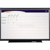 "Quartet® Prestige® Project Planner, 48""W x 36""H, Total Erase®, Chart-Style Surface"